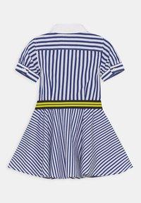 Polo Ralph Lauren - MIX STRIPE DRESSES - Košilové šaty - blue/white - 1