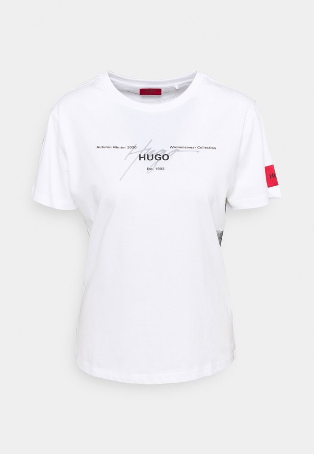 THE REGULAR TEE  - Printtipaita - white