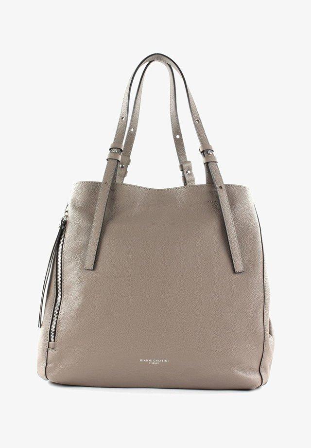 TWIN - Handbag - tortora