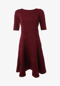 Madam-T - Day dress - weinrot - 5