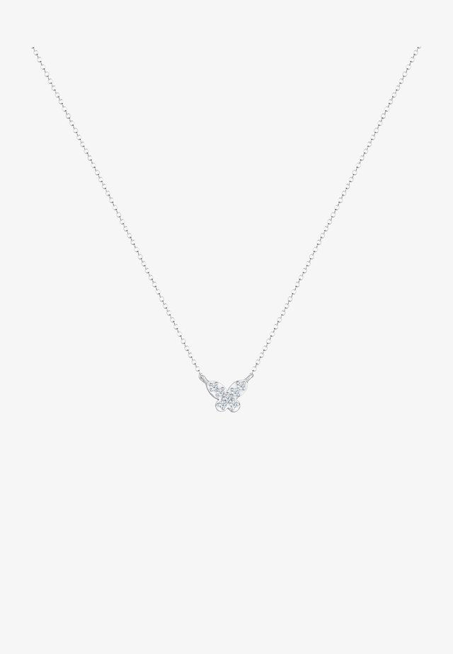 SCHMETTERLING - Necklace - silber