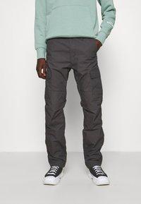 Carhartt WIP - AVIATION PANT COLUMBIA - Cargo trousers - blacksmith rinsed - 0