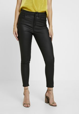 COATED SHAPER - Jeans Skinny - black