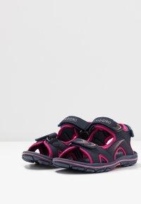 Kappa - SHIPLAKE - Sandales de randonnée - navy/pink - 3