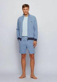 BOSS - Zip-up hoodie - open blue - 1