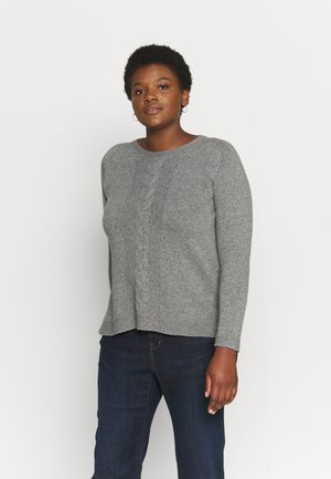 AGAVE - Jumper - grigio medio