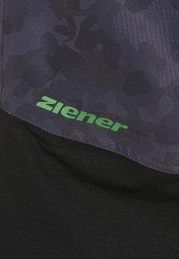 Ziener - AYULES JUNIOR - Snow pants - grey night - 4