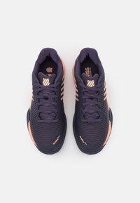 K-SWISS - HYPERCOURT EXPRESS 2 HB UNISEX - Multicourt tennis shoes - graystone/peach nectar - 3