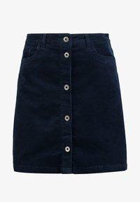 TOM TAILOR DENIM - A-line skirt - real navy blue - 3