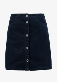 A-line skirt - real navy blue