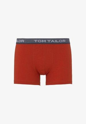 UNDERWEAR SCHLICHTE HIP-PANTS - Onderbroeken - red