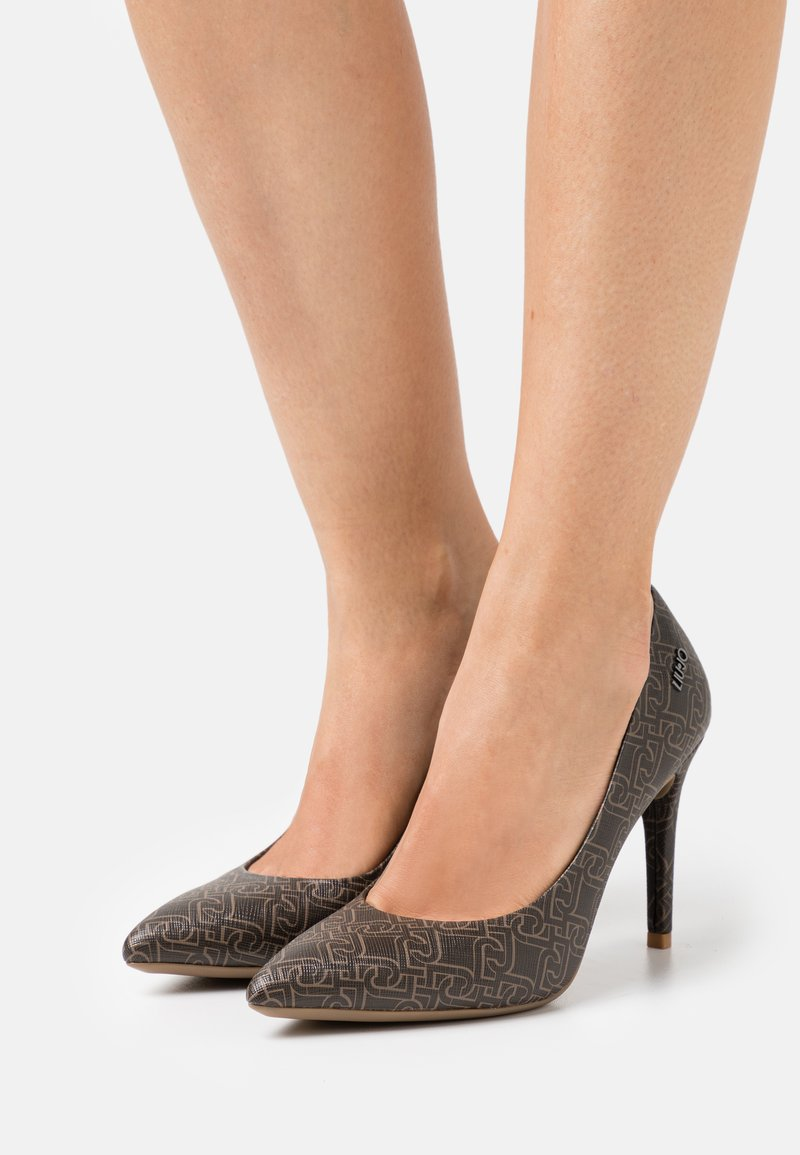 Liu Jo Jeans - VICKIE DÉCOLLETÉ - Classic heels - brown
