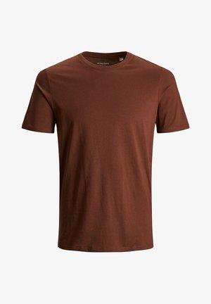 T-shirt basic - chocolate fondant