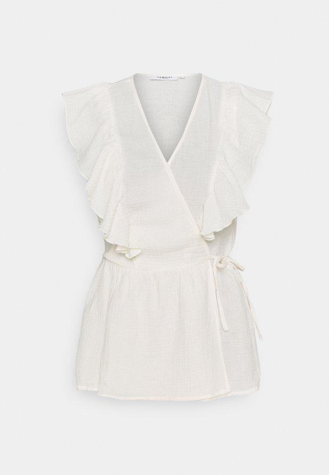 JANIELLE  - T-shirt print - egret