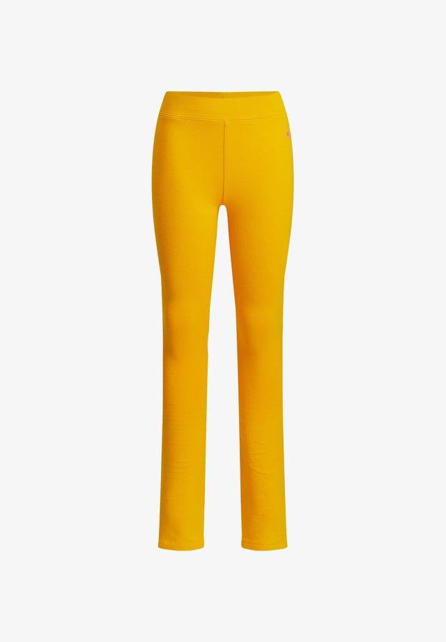MEISJES SKINNY FIT - Legging - ochre yellow