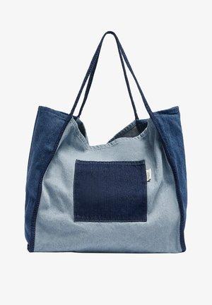 Tote bag - blue denim