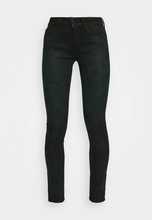 NEW LUZ - Jeans Skinny Fit - black/green