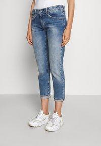 AG Jeans - EX BOYFRIEND - Slim fit -farkut - blue denim - 0