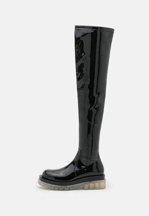 TANKED - Platform-saappaat - black