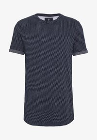 Nerve - T-shirt med print - navy - 4
