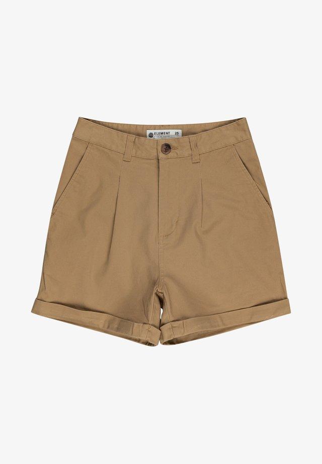 OLSEN - Shorts - desert khaki
