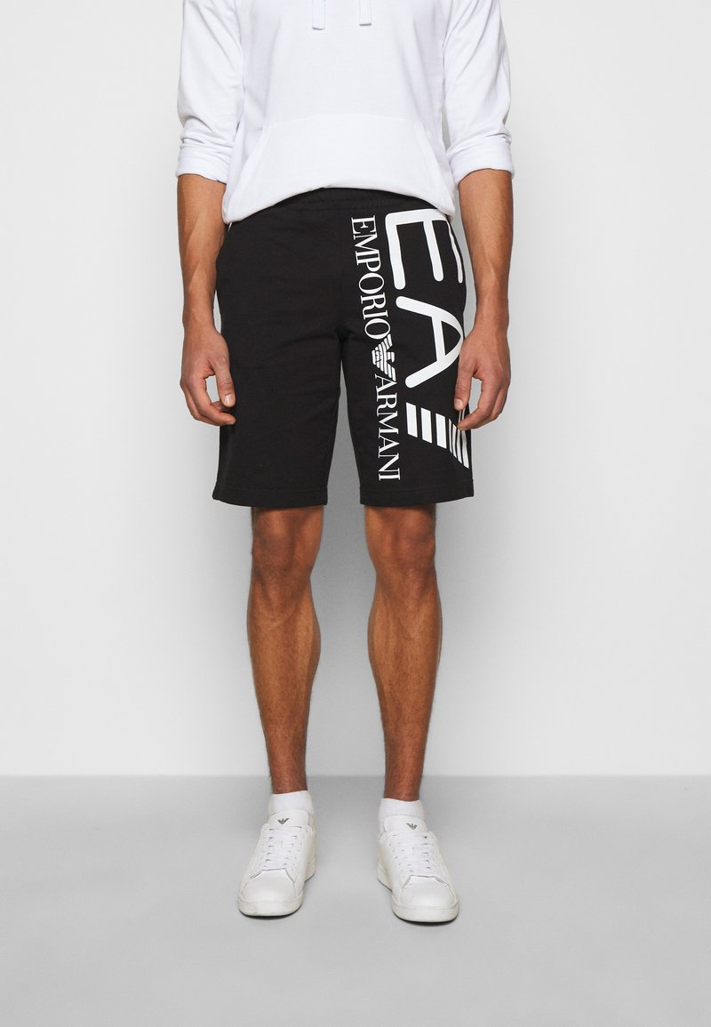 EA7 Emporio Armani - Shorts - black/white