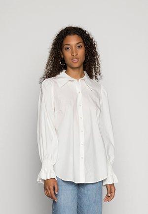YASLAI - Button-down blouse - star white