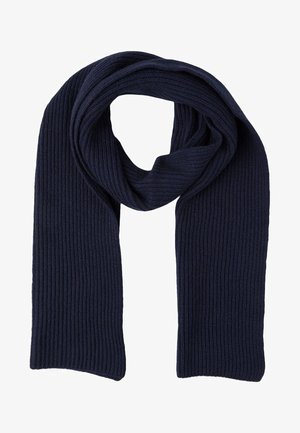 RIBBED CASHMERE SCARF - Sciarpa - navy