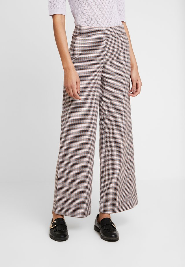 TROUSERS - Pantaloni - vienna houndstooth