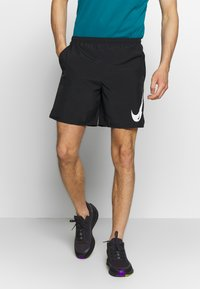Nike Performance - RUN SHORT - Pantalón corto de deporte - black/white - 0