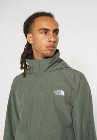 The North Face - SANGRO JACKET - Hardshell jacket - mottled green - 3