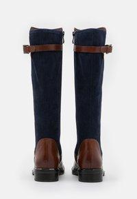Caprice - Boots - cognac/ocean - 3