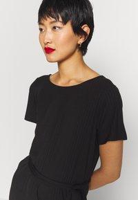 Object - OBJCELIA DRESS - Žerzejové šaty - black - 3