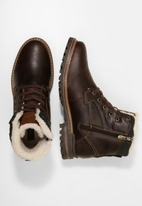 Dockers by Gerli - Lace-up ankle boots - dunkelbraun - 1