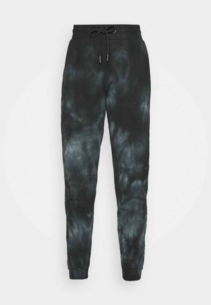 TIE DYE JOGGER - Tracksuit bottoms - black