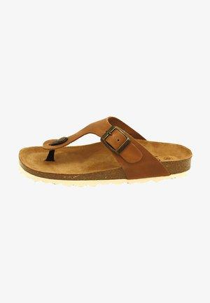 BIO RUFFY - Sandalias de dedo - marrón