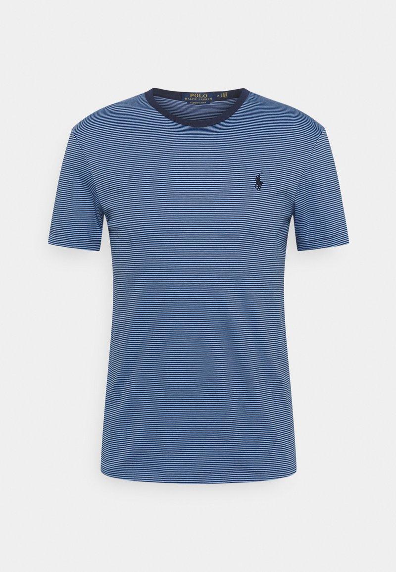Polo Ralph Lauren - CUSTOM SLIM FIT SOFT COTTON T-SHIRT - Print T-shirt - cabana blue/french navy
