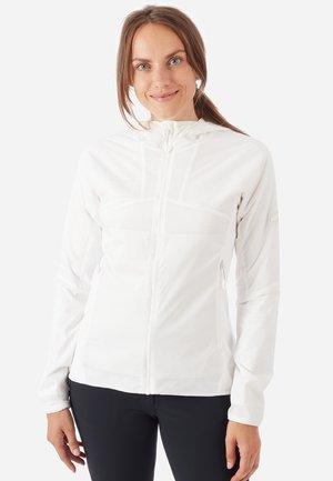 RIME LIGHT IN FLEX - Soft shell jacket - bright white