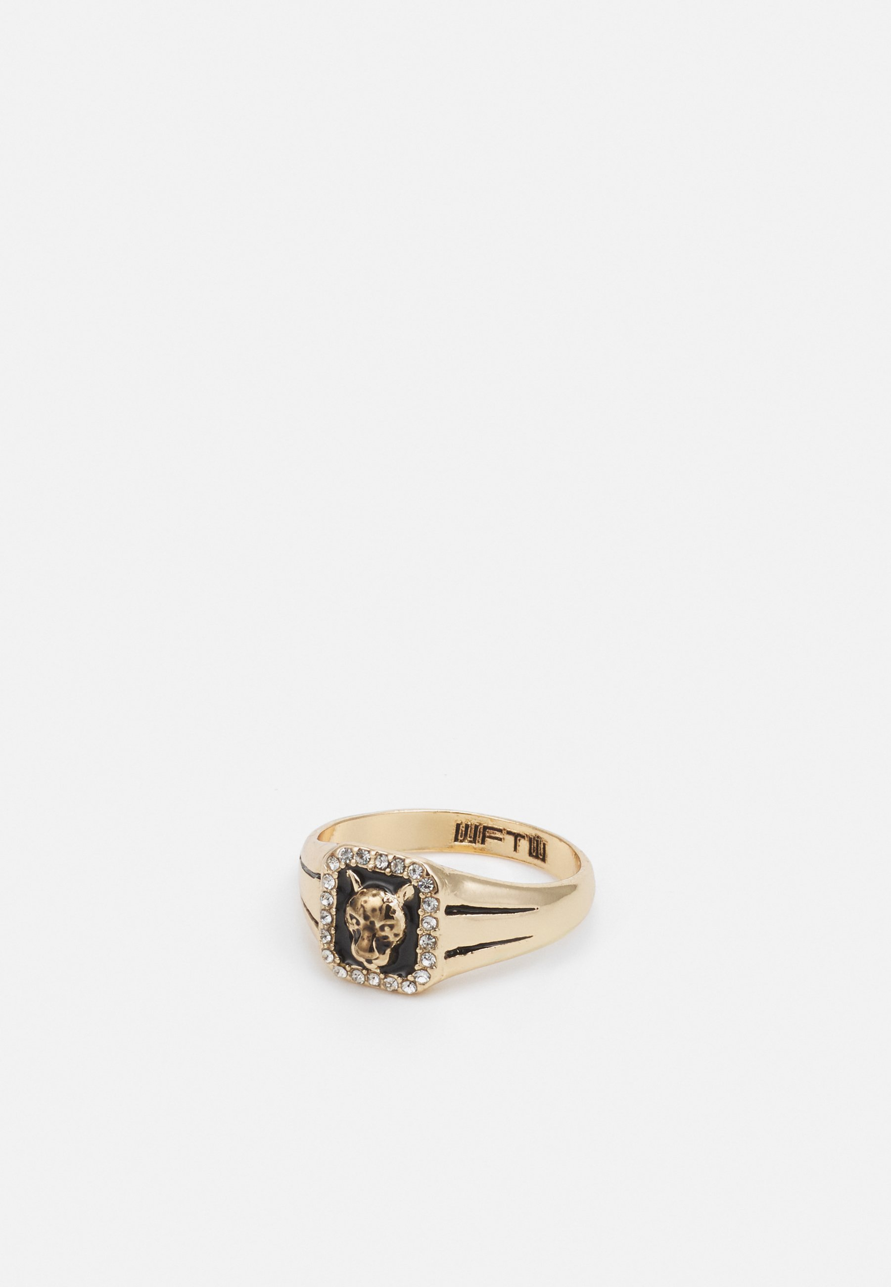 Homme WELCOME TO THE JUNGLE RECTANGLE LEOPARD - Bague