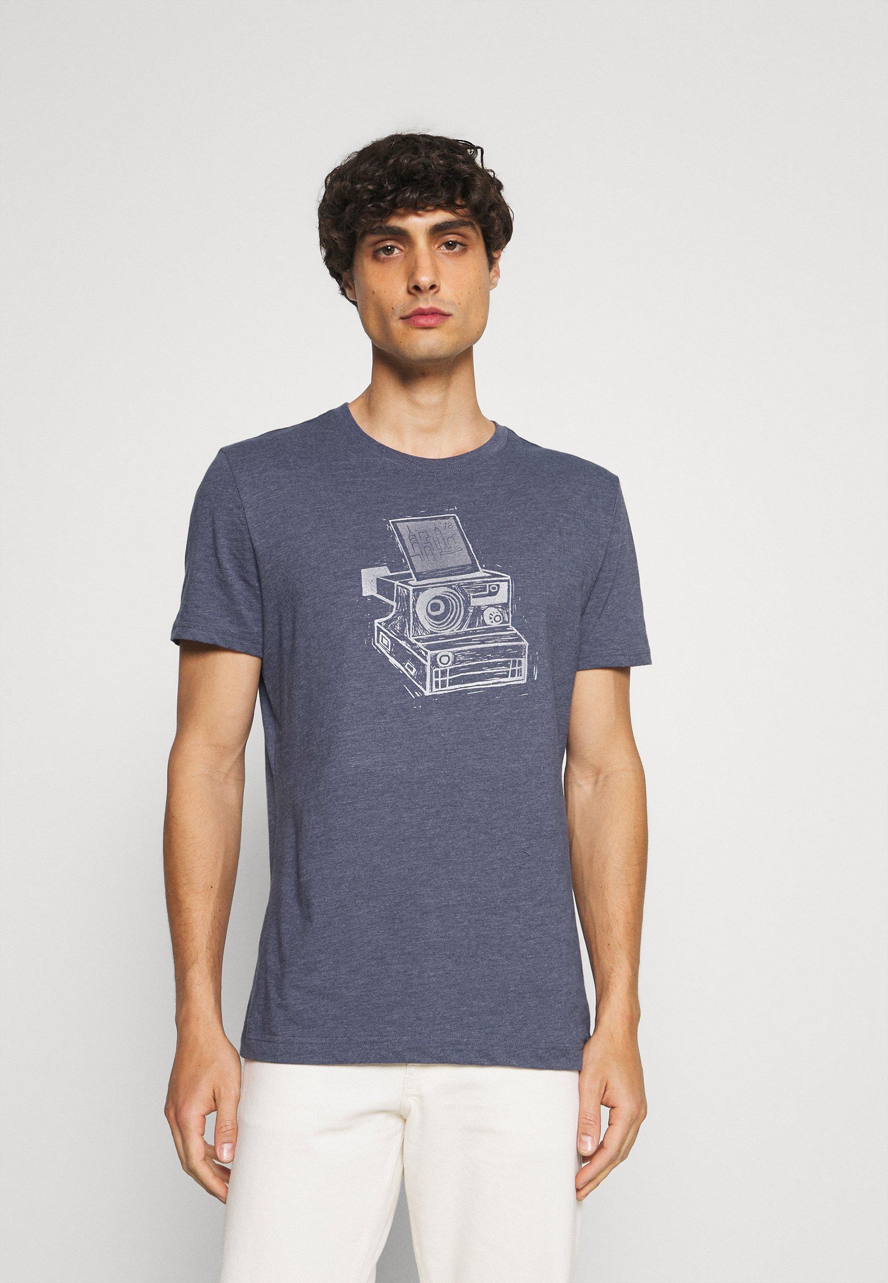 Homme INSTANT CAMERA - ECO GRAPHIC TEE - T-shirt imprimé