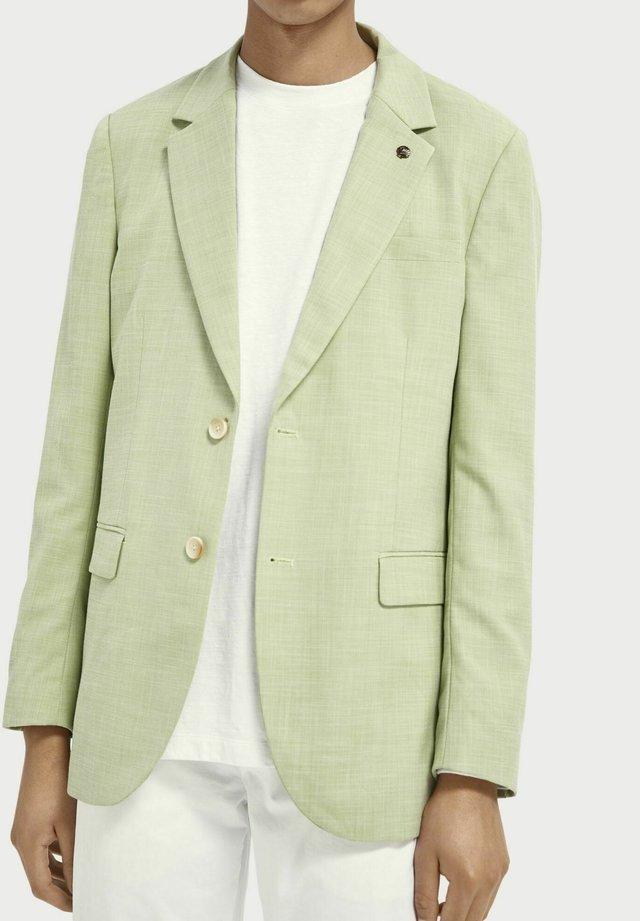 Blazer jacket - green pearl melange