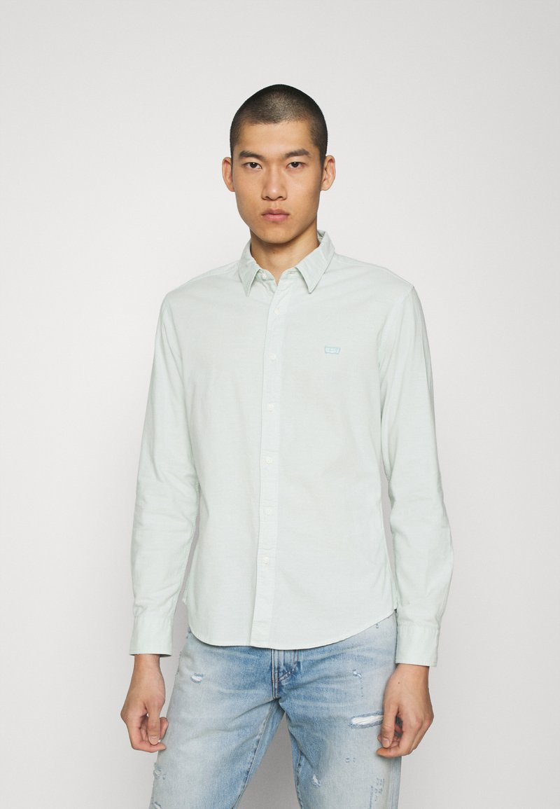 Levi's® - BATTERY SLIM - Shirt - greys
