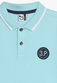 3 Pommes - POLO MAILLE - Polo shirt - turquoise - 3