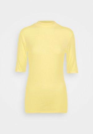KROWN - Basic T-shirt - lemon haze