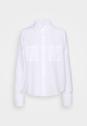 HELENA - Button-down blouse - white chal