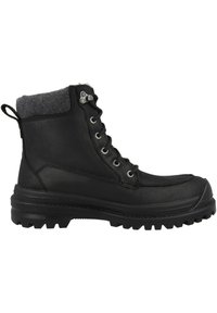 Kamik - GRIFFON - Lace-up ankle boots - black - 4