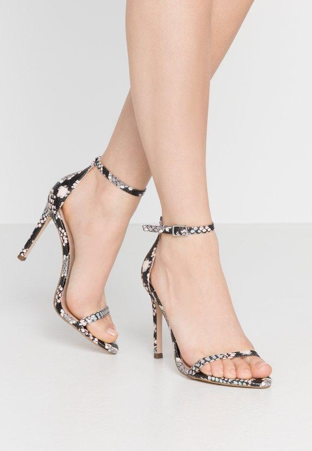 ABBY - Korolliset sandaalit - multicolor