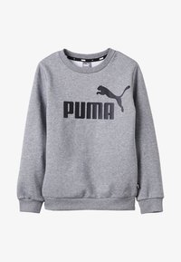 Puma - LOGO CREW - Sweatshirts - medium gray heather - 2