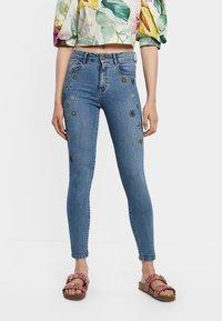 Desigual - Jean slim - blue - 0