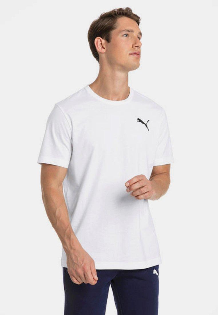 Puma - HERREN ESSENTIALS SMALL LOGO - Basic T-shirt - white